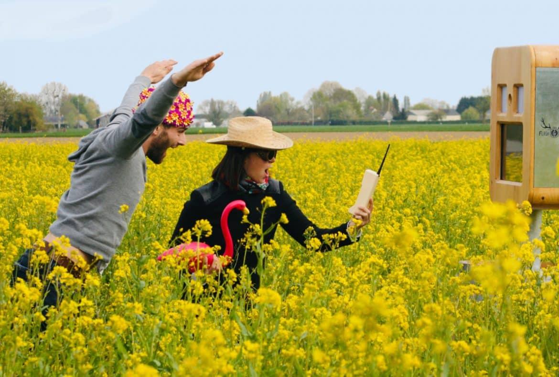 Photobooth - mariage champêtre et bohème - Pays-de-la-Loire