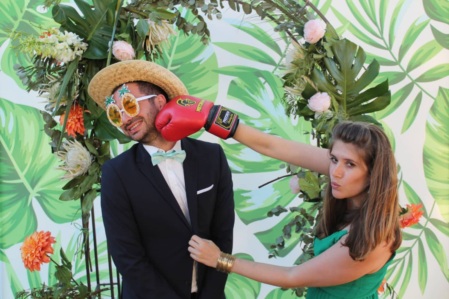 Photobooth - mariage champêtre Angers
