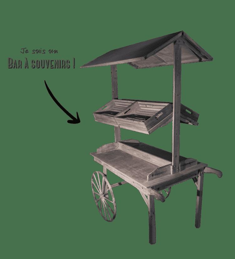 Présentation du Bar à Souvenirs en bois